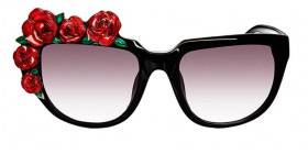 Rose Roge - Black/Red
