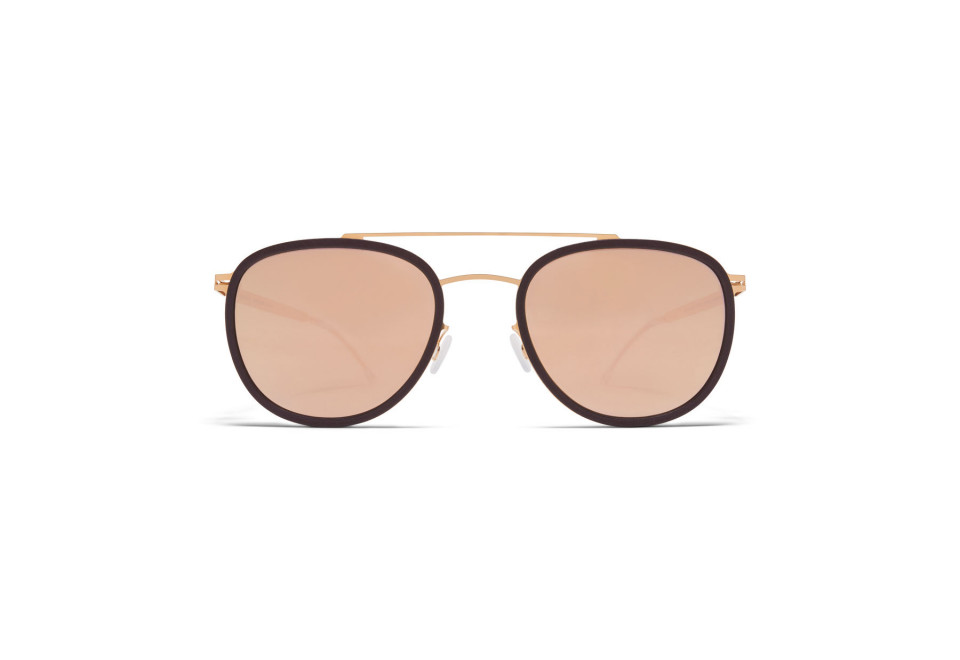 MYKITA HOPS MH8 Ebony Brown/Champagne Gold