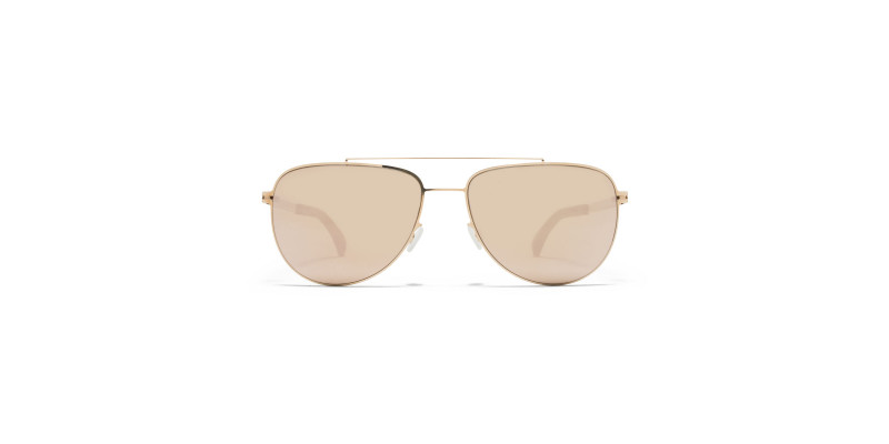 MYKITA LEAF MH8 Ebony Brown/Champagne Gold