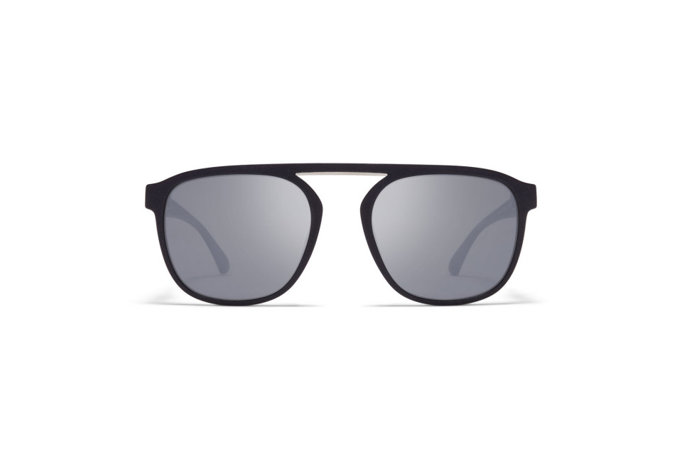 MYKITA PABU MMT2 Pitch Black/Shiny Silver