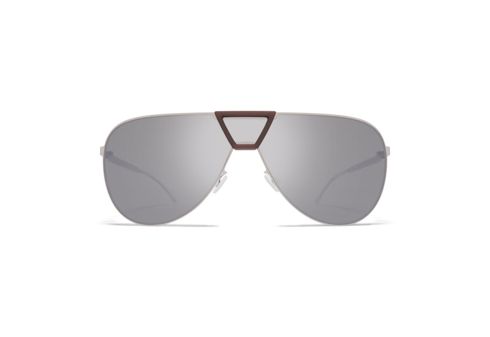 MYKITA PEPPER MH18 Taupe Grey/Shiny Silver