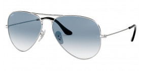 RB3025 AVIATOR LARGE METAL 003/3F