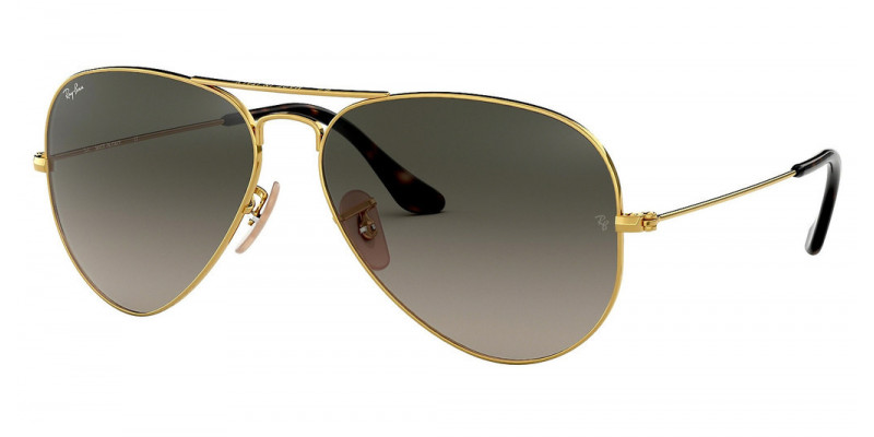RB3025 AVIATOR LARGE METAL 181/71