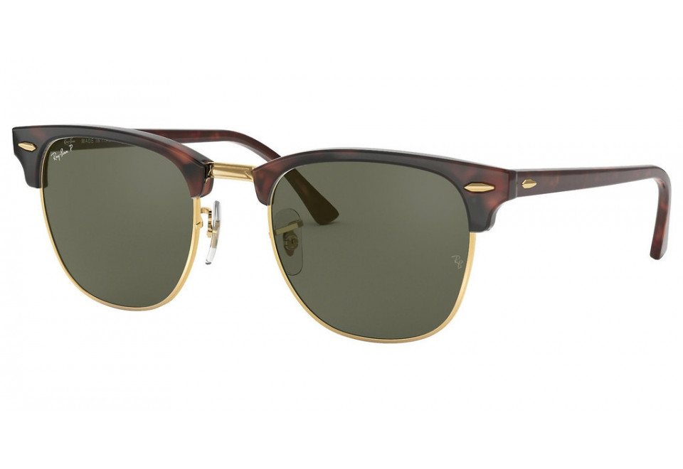 Ray-Ban RB3016 CLUBMASTER 990/58 POLARIZED