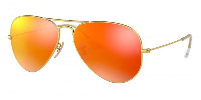 RB3025 AVIATOR LARGE METAL 112/69