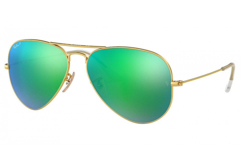 Ray-Ban RB3025 AVIATOR LARGE METAL 112/P9 POLARIZED