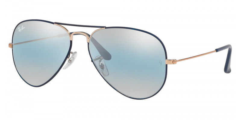 RB3025 AVIATOR LARGE METAL 9156AJ