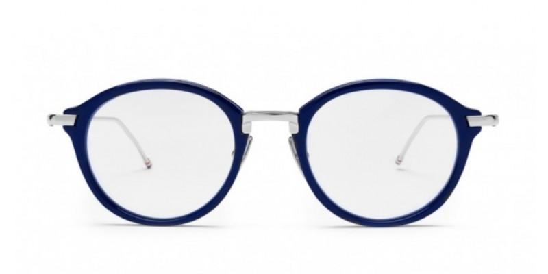 THOM BROWNE TB011 NVY/SLV optical