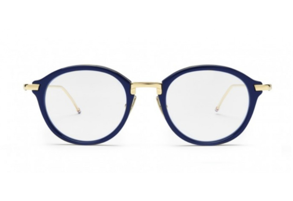 THOM BROWNE TB011 NVY/GLD optical