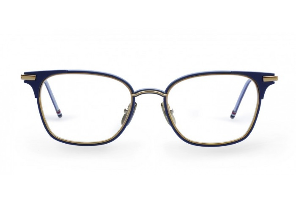 THOM BROWNE TB107 NVY/GLD optical