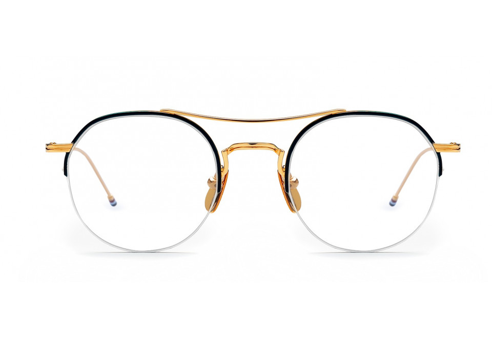 THOM BROWNE TB903 GLD/NVY optical
