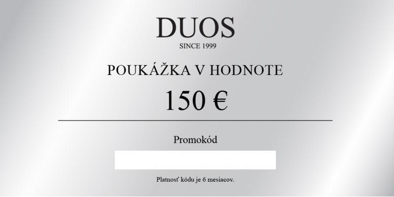 Digitálna darčeková poukážka 150€