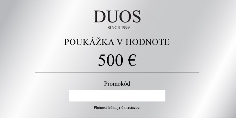 Digital gift voucher 500€