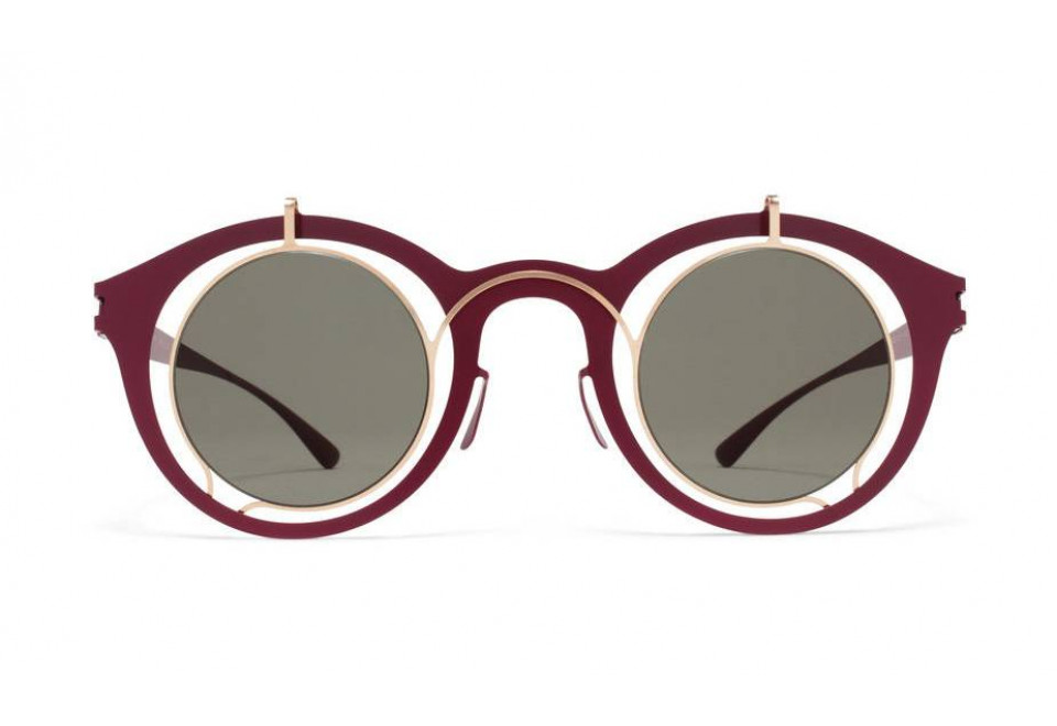 MYKITA BRADFIELD CHAM GLD/WIN RED